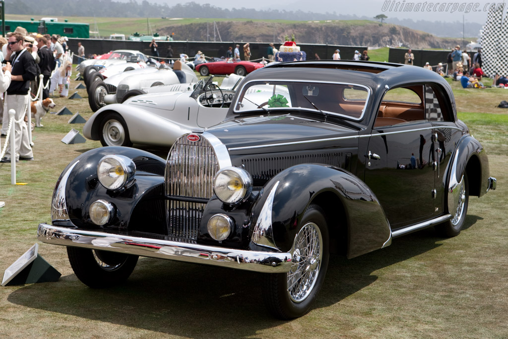 Bugatti Type 57 Paul Née Pillarless Coupe - Chassis: 57397   - 2009 Pebble Beach Concours d'Elegance