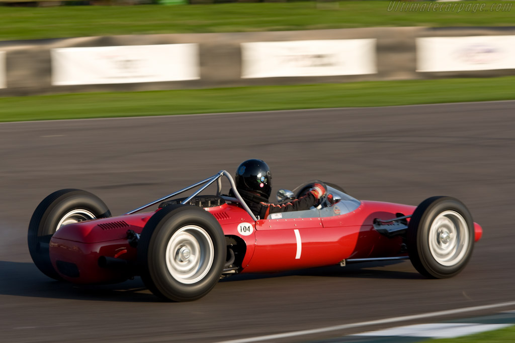 ATS Tipo 100 - Chassis: 100-01   - 2008 Goodwood Revival