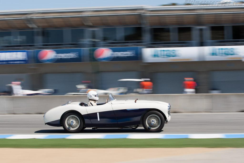Austin Healey 100S - Chassis: AHS 3707   - 2012 Monterey Motorsports Reunion