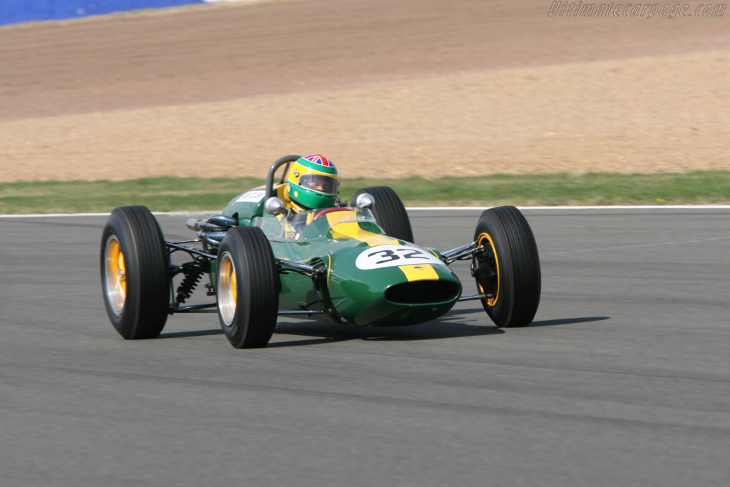 Lotus 32B Climax - Chassis: 32-F2-7   - 2006 Silverstone Classic