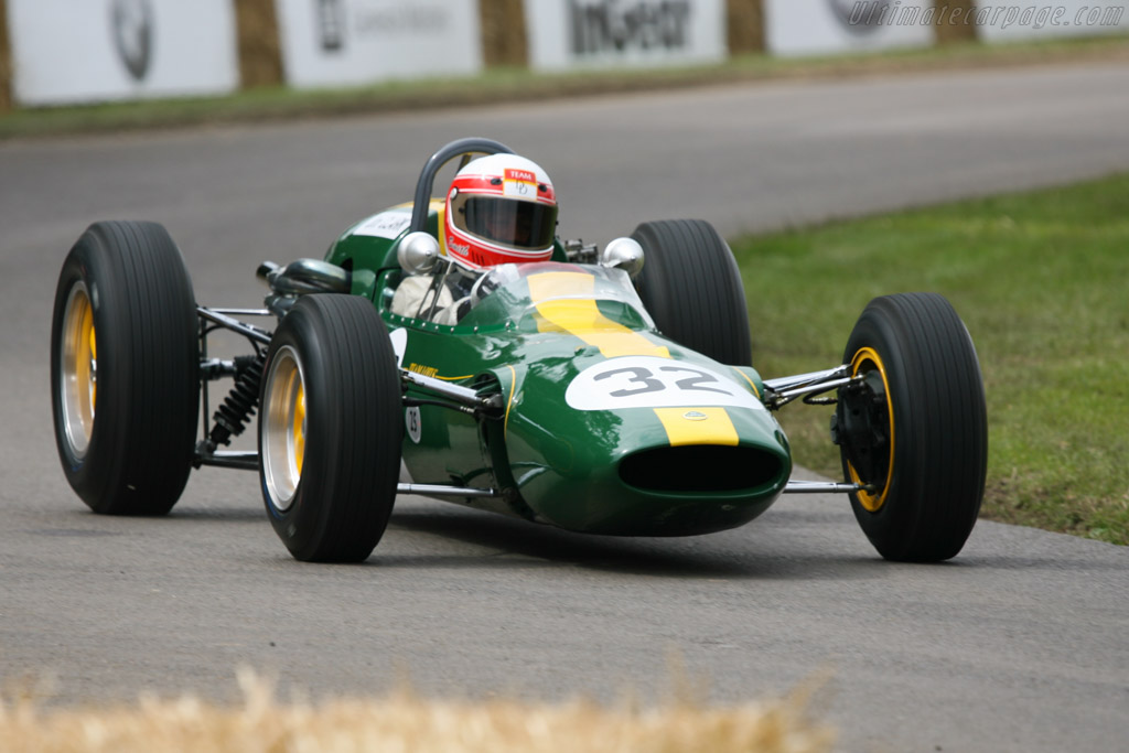 Lotus 32B Climax - Chassis: 32-F2-7   - 2007 Goodwood Festival of Speed