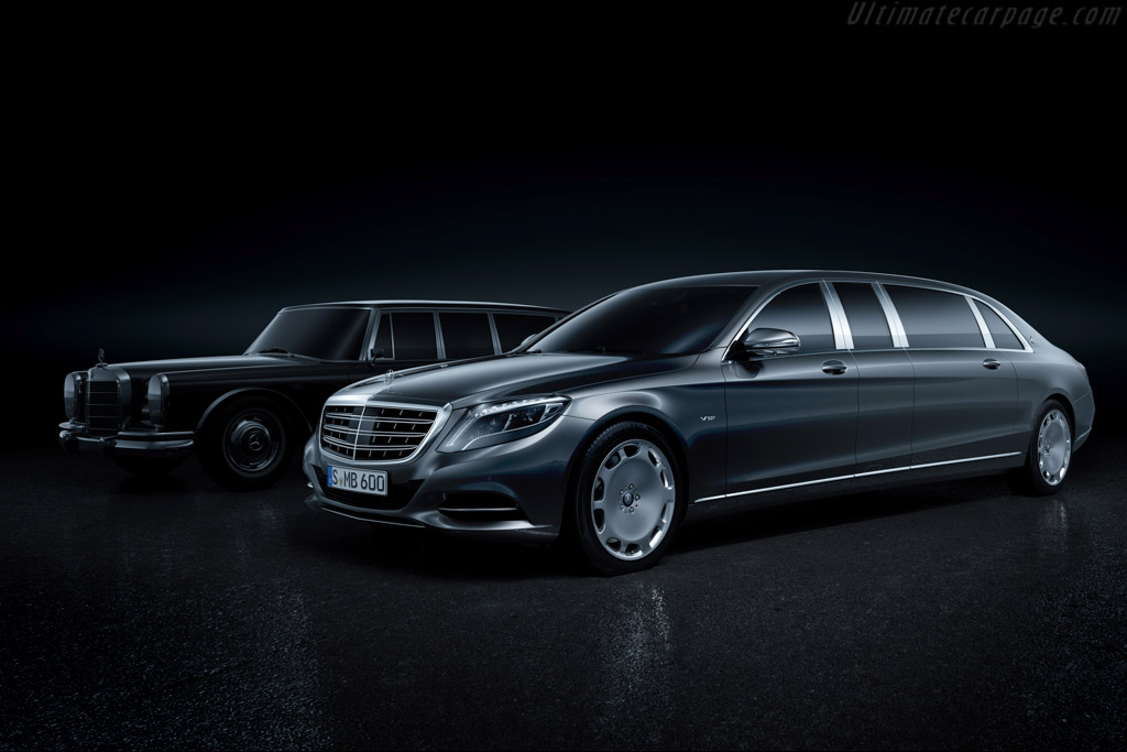Click here to open the Mercedes-Maybach Pullman gallery