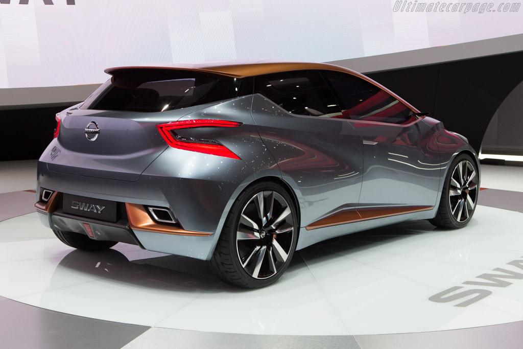 Nissan Sway Concept    - 2015 Geneva International Motor Show