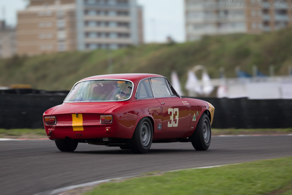 alfa romeo giulia 1600 gta corsa chassis ar613056 2015 historic grand prix zandvoort. Black Bedroom Furniture Sets. Home Design Ideas