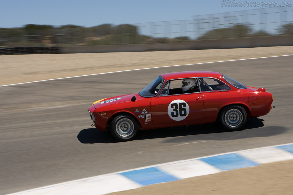 Alfa Romeo Giulia 1600 GTA Corsa - Chassis: AR613006   - 2008 Monterey Historic Automobile Races
