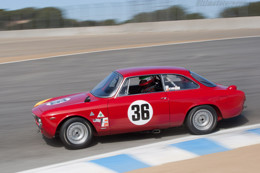 Alfa Romeo Giulia 1600 GTA Corsa - Chassis: AR613006   - 2011 Monterey Motorsports Reunion