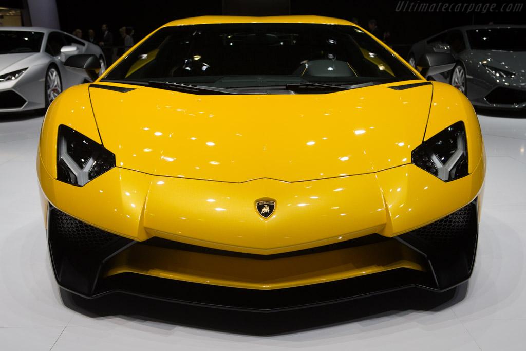 Lamborghini Aventador Lp750 4 Sv 2015 Geneva International Motor Show