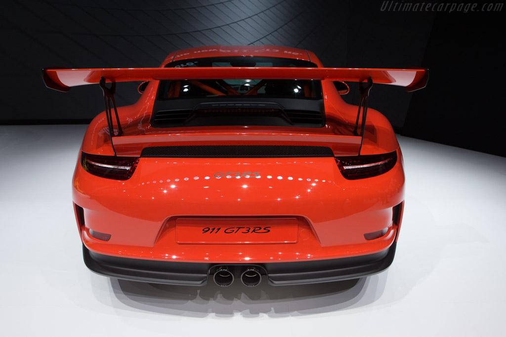 Porsche 911 GT3 RS    - 2015 Geneva International Motor Show
