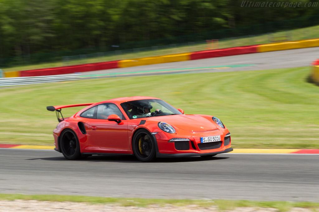 Porsche 911 GT3 RS    - 2015 Modena Trackdays