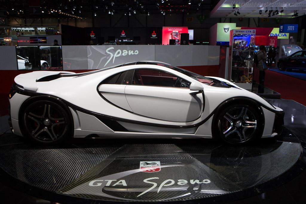GTA Spano    - 2015 Geneva International Motor Show