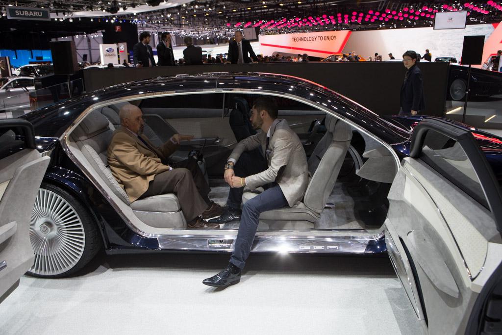 Italdesign Gea    - 2015 Geneva International Motor Show