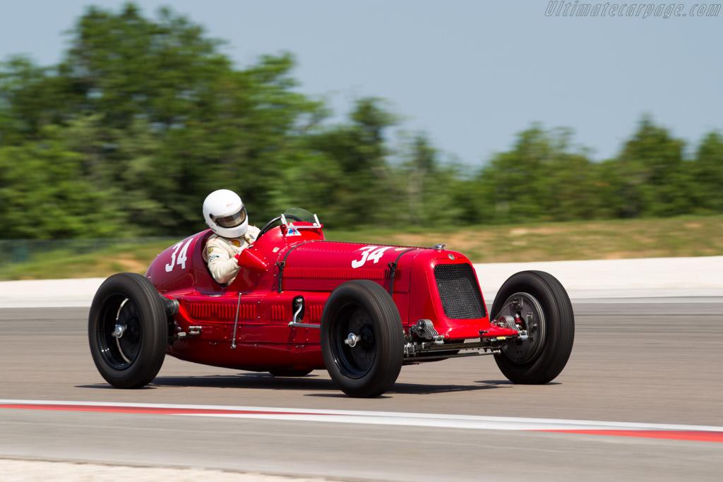 Maserati 6C 34 - Chassis: 3023   - 2015 Grand Prix de l'Age d'Or