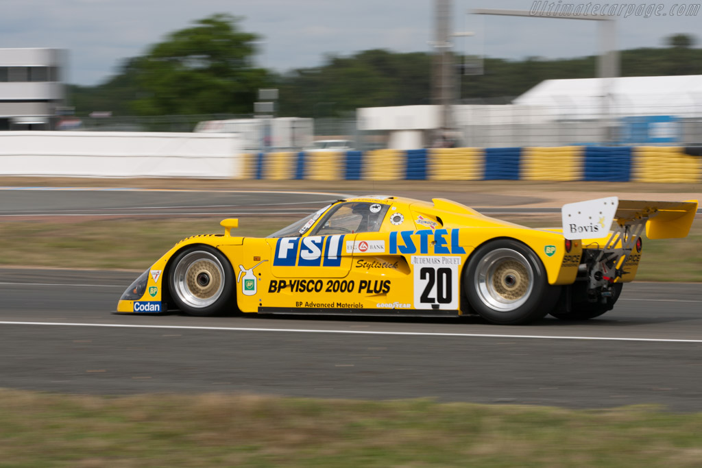 Spice SE89C Cosworth - Chassis: SE89C-003   - 2012 24 Hours of Le Mans