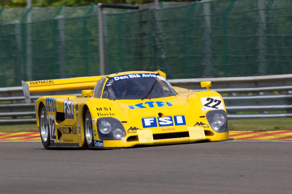 Spice SE89C Cosworth - Chassis: SE89C-003   - 2013 Spa Classic
