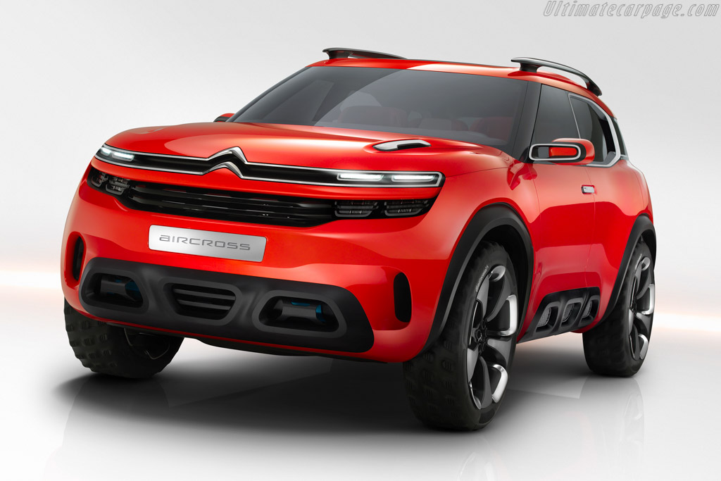 Click here to open the Citroën Aircross Concept gallery