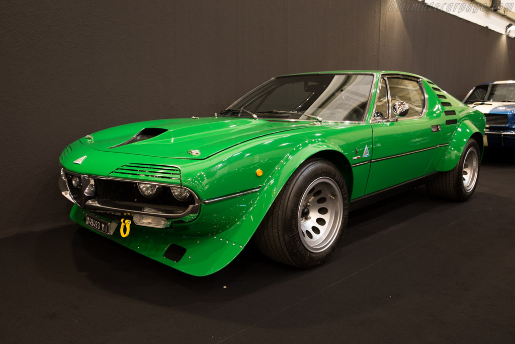 1973 Alfa Romeo Montreal Group 4 Images Specifications