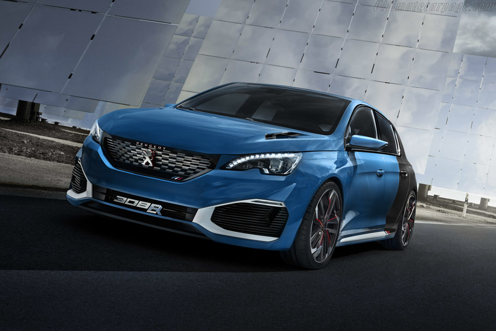 Click here to open the Peugeot 308 R HYbrid gallery