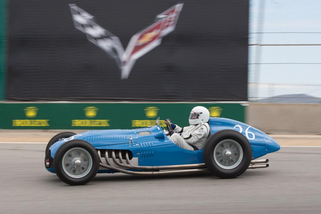 Talbot Lago T26C Grand Prix - Chassis: 110052   - 2013 Monterey Motorsports Reunion