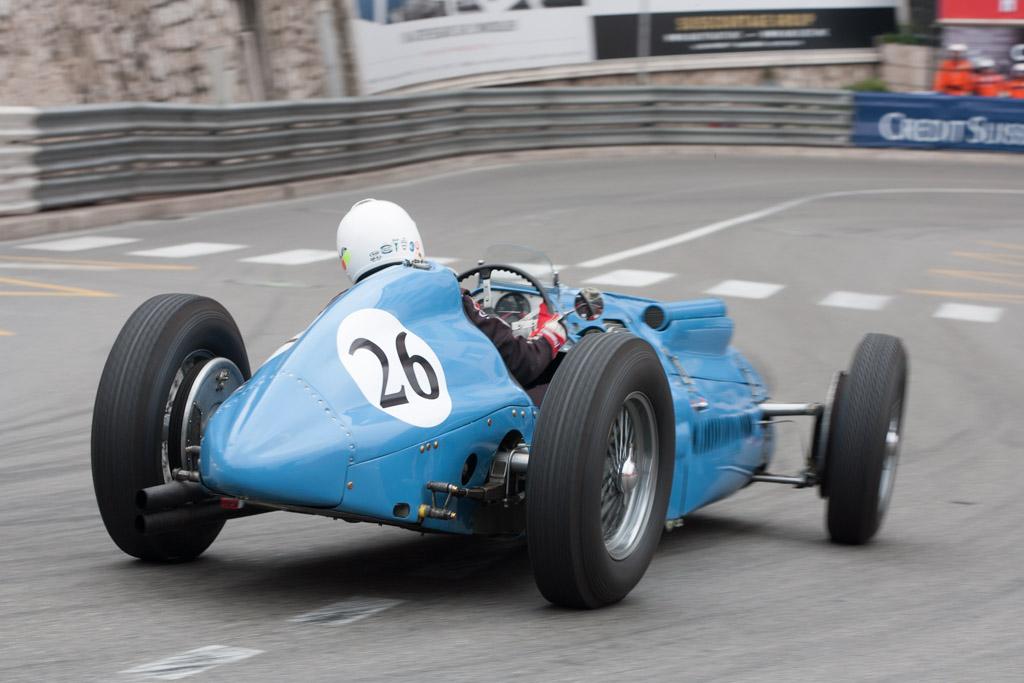 Talbot Lago T26C Grand Prix - Chassis: 110004   - 2012 Monaco Historic Grand Prix