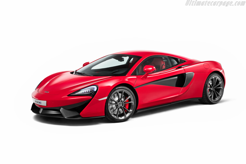Click here to open the McLaren 540C gallery