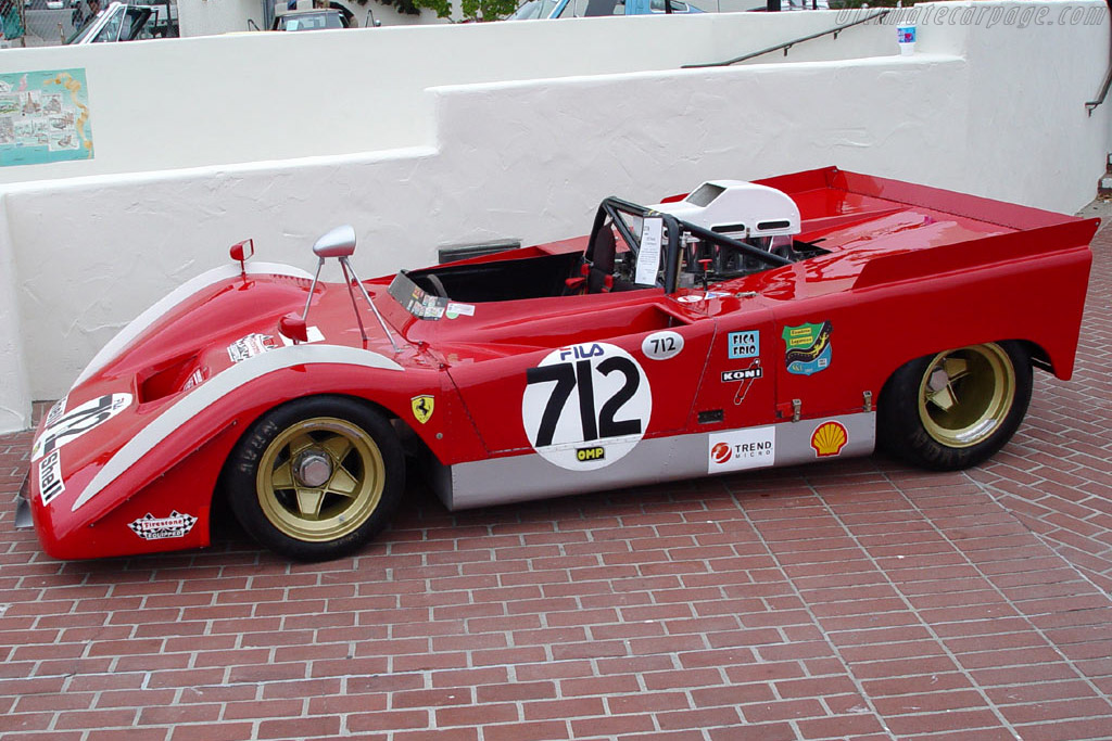 Can Am Car >> Ferrari 712 Can-Am (Chassis 1010) High Resolution Image