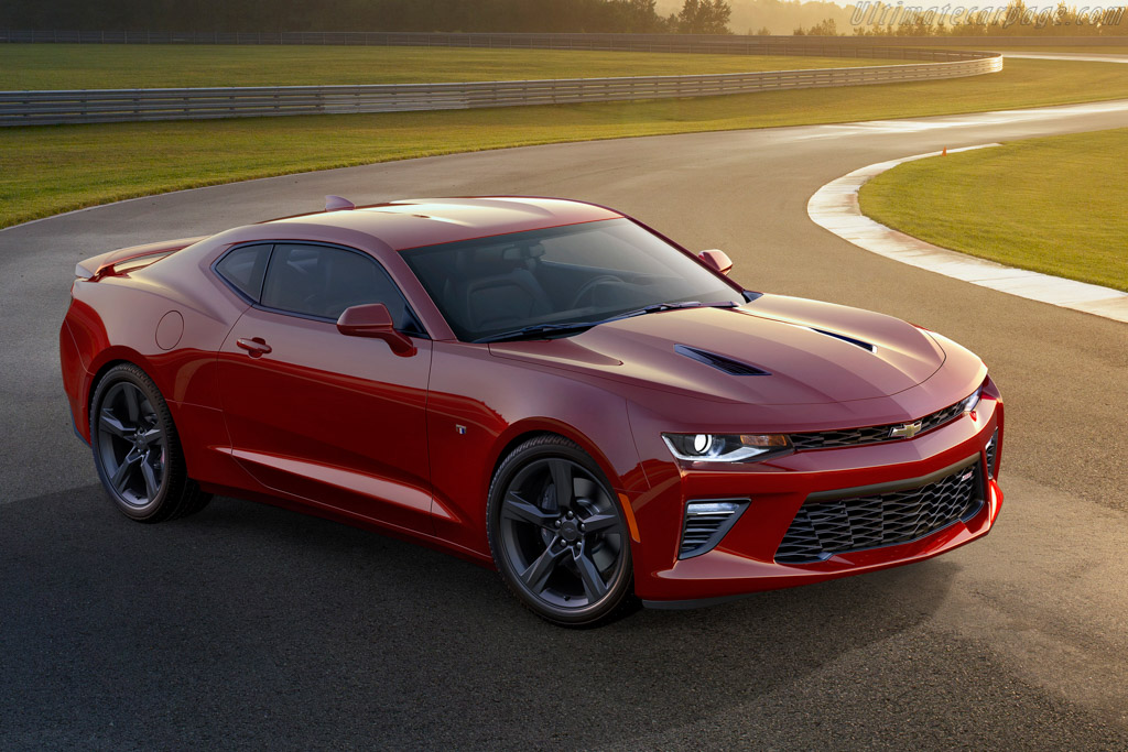 Click here to open the Chevrolet Camaro SS gallery