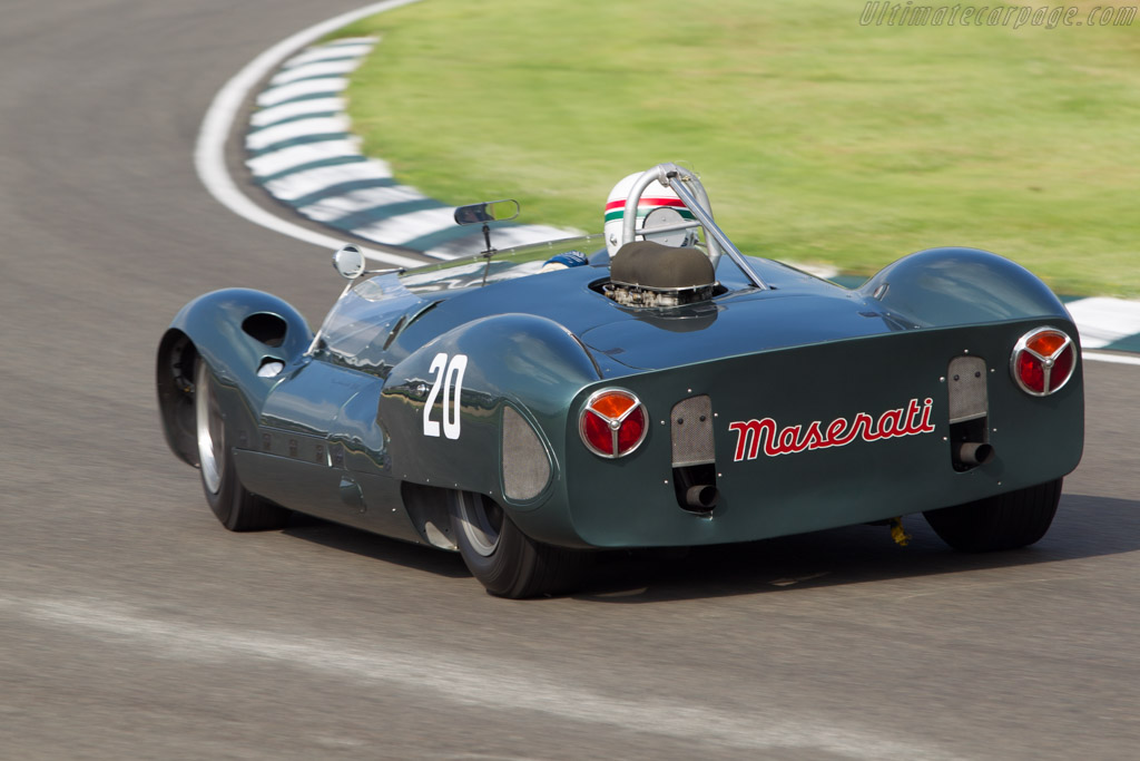 Cooper Monaco T61P Maserati - Chassis: 151-010   - 2014 Goodwood Revival