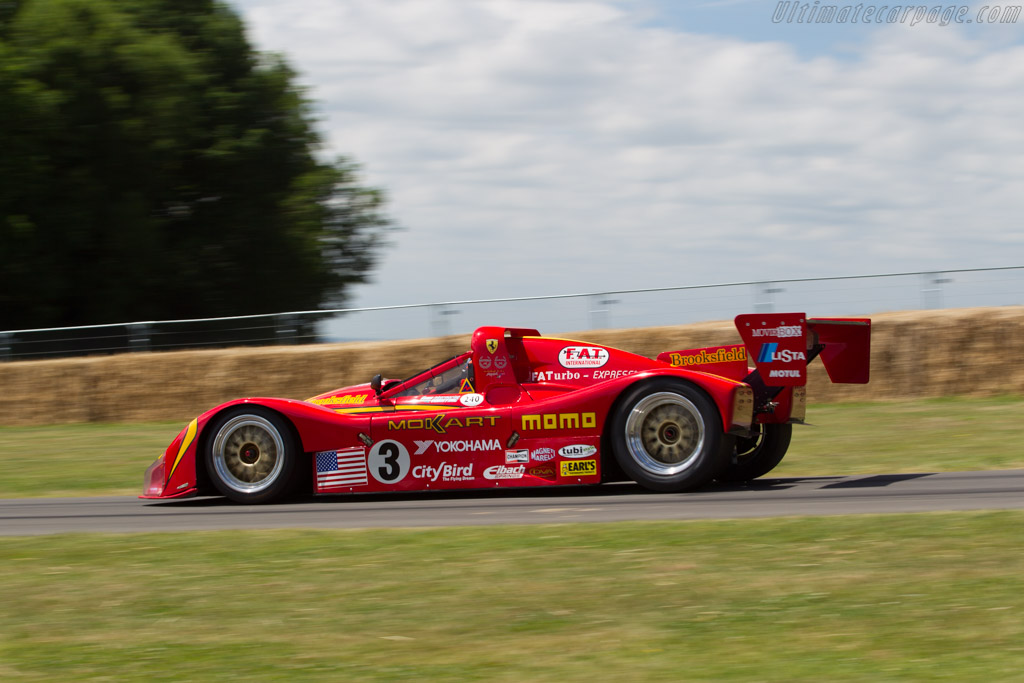 Ferrari 333 SP - Chassis: 019 - Driver: Nicolas Minassian  - 2017 Goodwood Festival of Speed