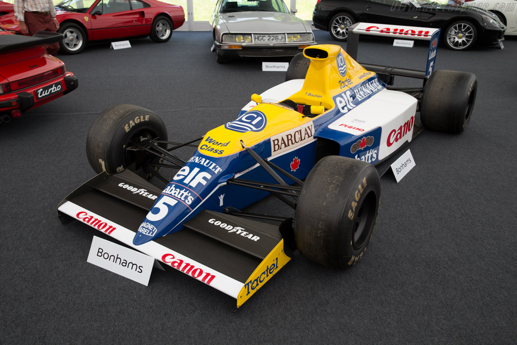 Williams FW13B Renault - Chassis: FW13-07   - 2015 Goodwood Festival of Speed