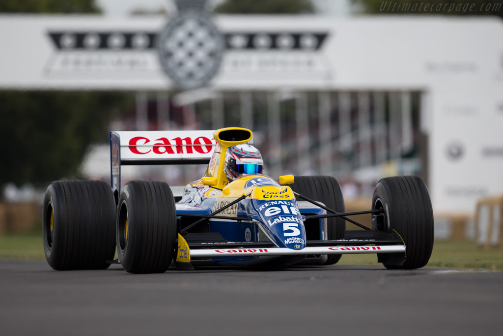 Williams FW13B Renault - Chassis: FW13-08  - 2015 Goodwood Festival of Speed