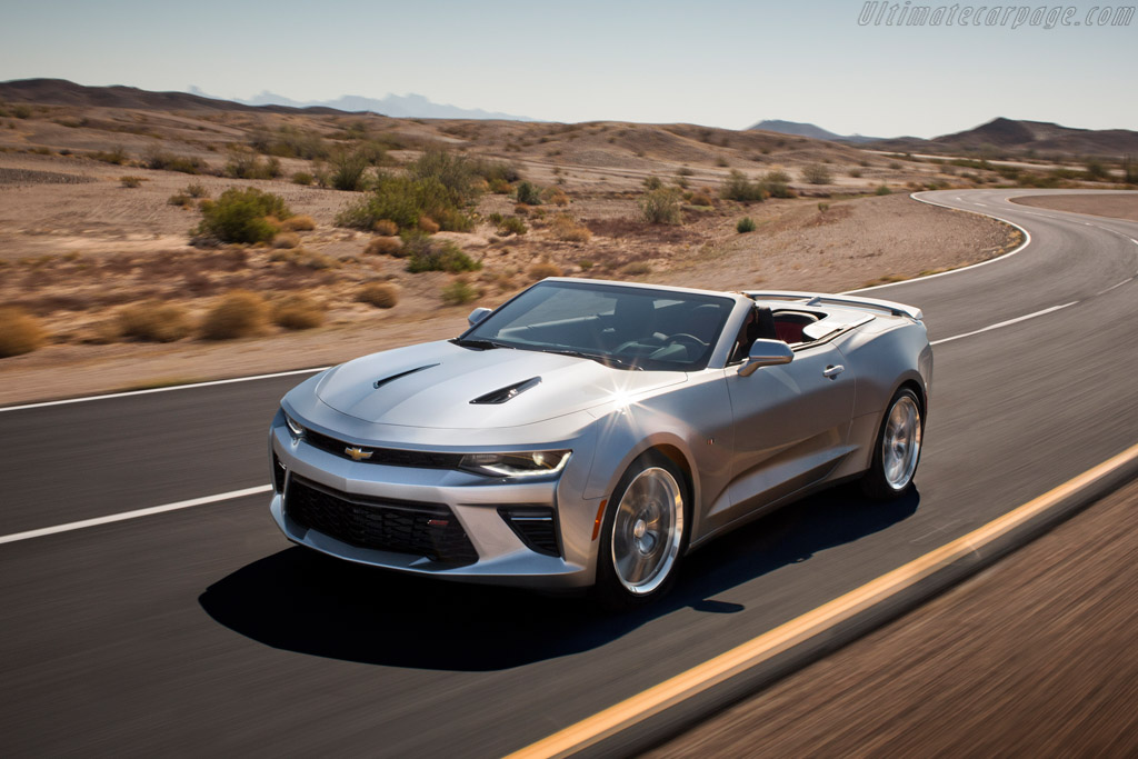 Click here to open the Chevrolet Camaro SS Convertible gallery