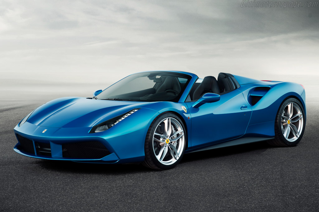 Click here to open the Ferrari 488 Spider gallery