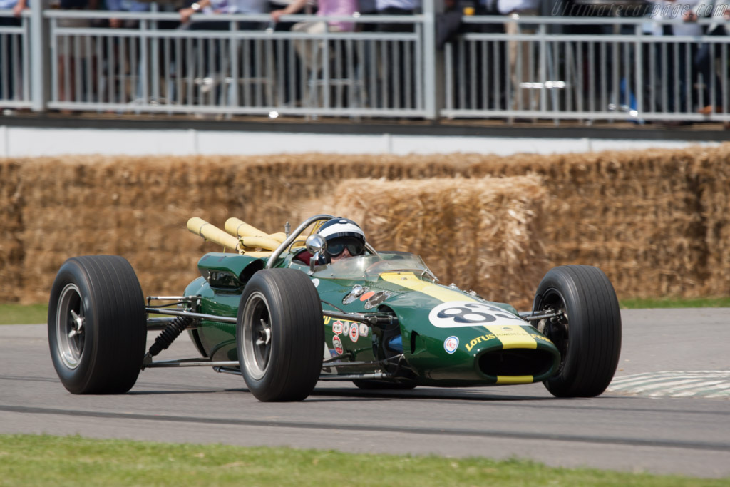 Lotus 38 Ford - Chassis: 38/4   - 2011 Goodwood Festival of Speed