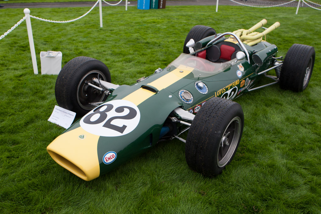 Lotus 38 Ford - Chassis: 38/1   - 2010 Pebble Beach Concours d'Elegance