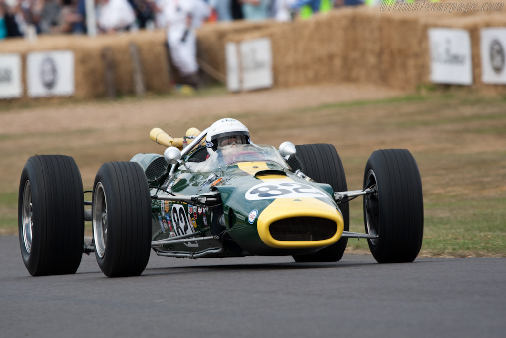 Lotus 38 Ford - Chassis: 38/1 - Driver: Lord March  - 2010 Goodwood Festival of Speed
