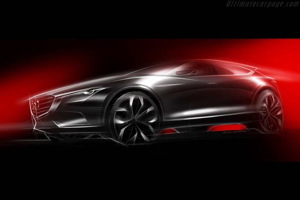 Click here to open the Mazda Koeru Concept gallery