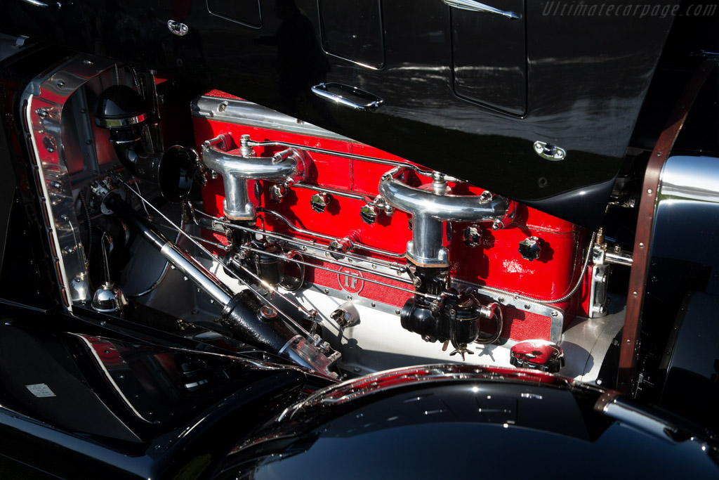 Isotta Fraschini 8A Worblaufen Cabriolet - Chassis: 605   - 2015 Pebble Beach Concours d'Elegance