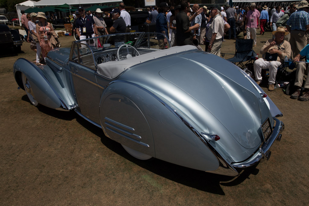 Delahaye 145 Franay Cabriolet - Chassis: 48772/3   - 2015 Pebble Beach Concours d'Elegance