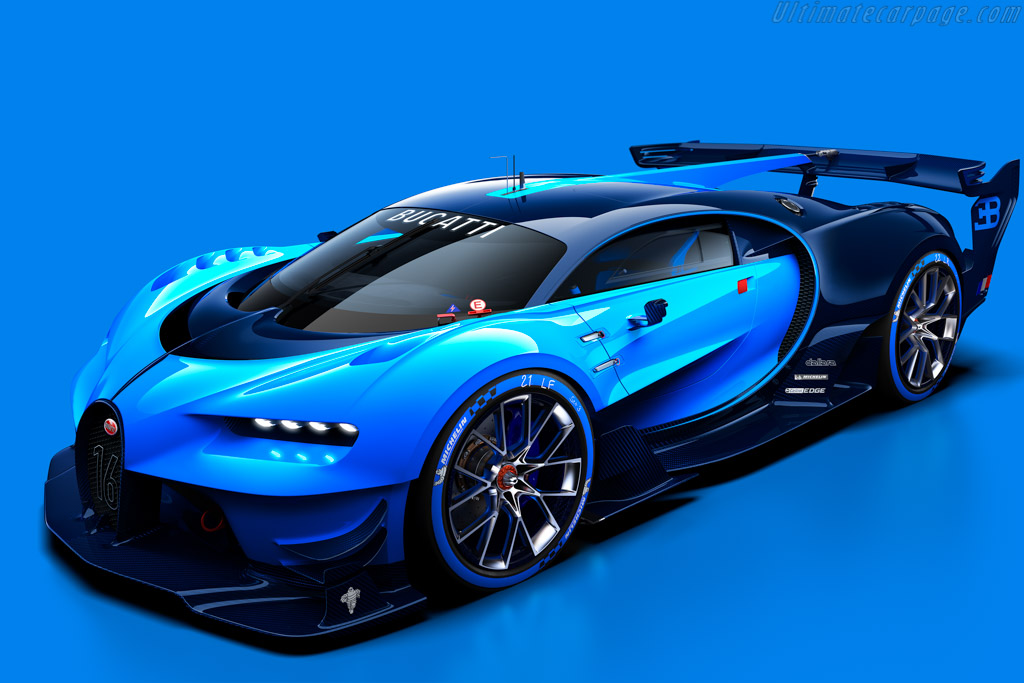 Click here to open the Bugatti Vision Gran Turismo gallery
