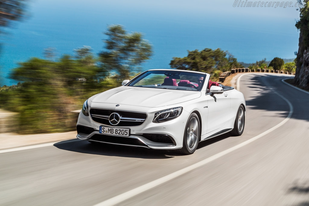 Mercedes-AMG S 63 Cabriolet