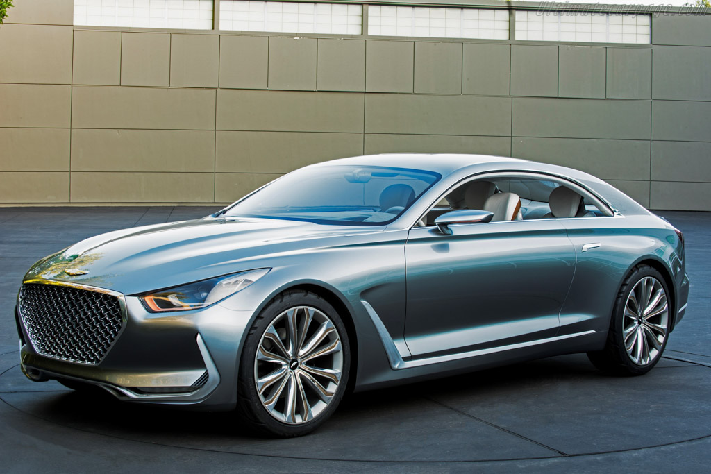 Click here to open the Hyundai Vision G Coupe Concept gallery