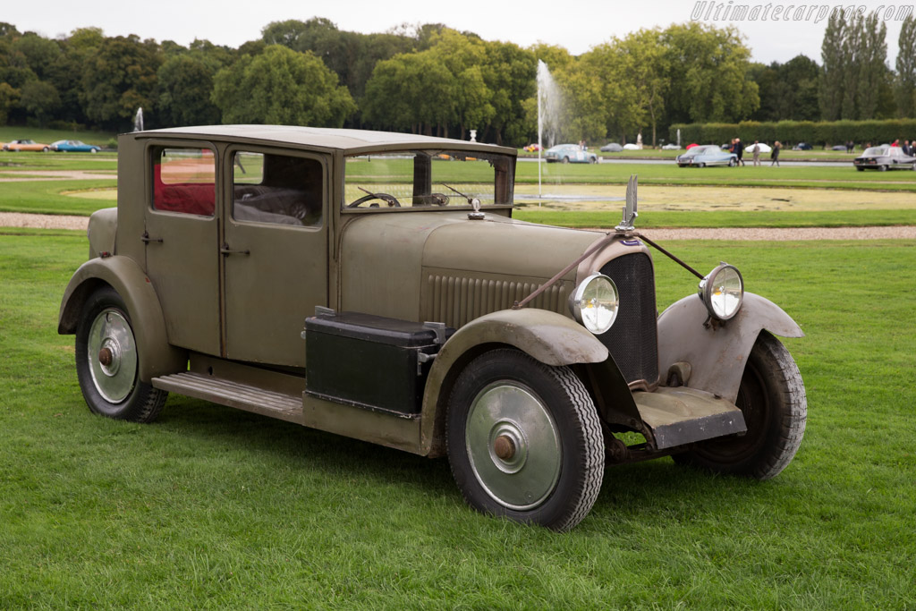 Voisin C14 Berline - Chassis: 28893   - 2015 Chantilly Arts & Elegance