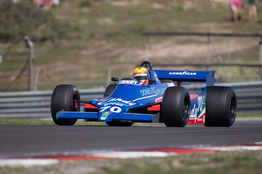 Tyrrell 010 Cosworth - Chassis: 010-3   - 2015 Historic Grand Prix Zandvoort