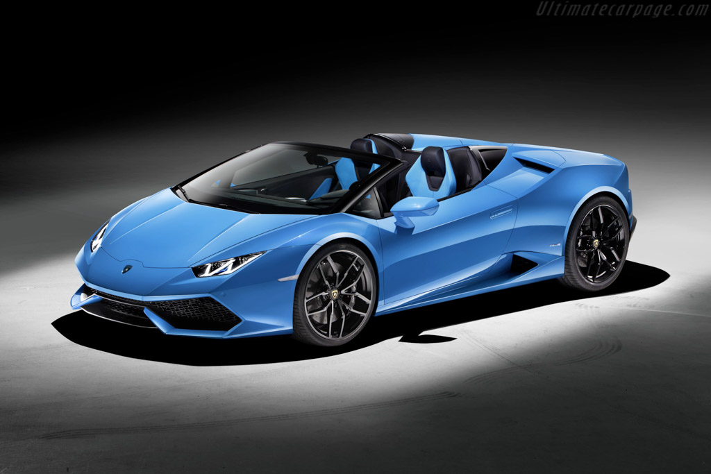 Click here to open the Lamborghini Huracán LP610-4 Spyder gallery