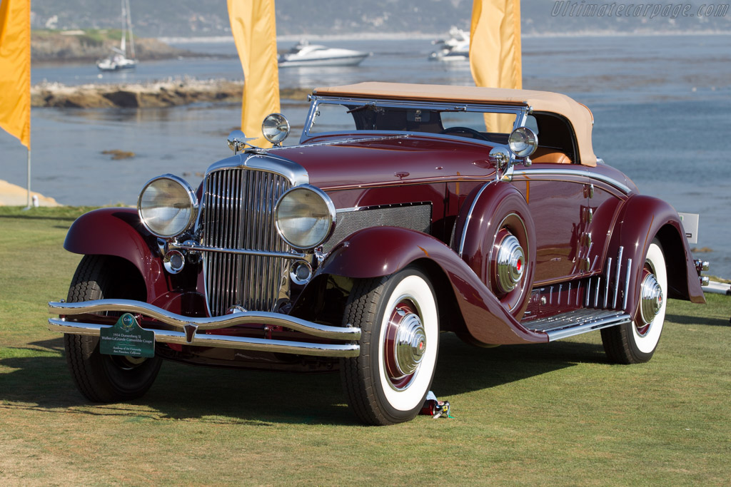 Click here to open the Duesenberg SJ Walker LaGrande Convertible Coupe gallery