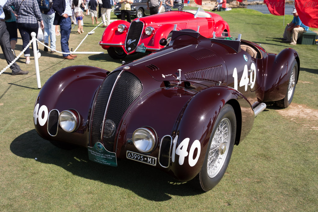 Alfa Romeo 6C 2300B MM Touring Corsa Spider - Chassis: 815001   - 2015 Pebble Beach Concours d'Elegance