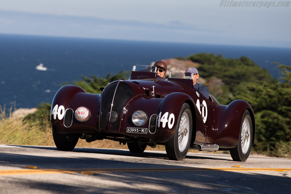 Click here to open the Alfa Romeo 6C 2300B MM Touring Corsa Spider gallery
