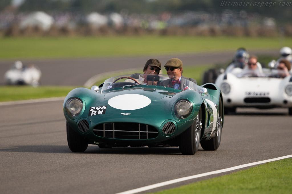 Aston Martin DBR1 - Chassis: DBR1/1 - Driver: Lukas Hüni  - 2015 Goodwood Revival