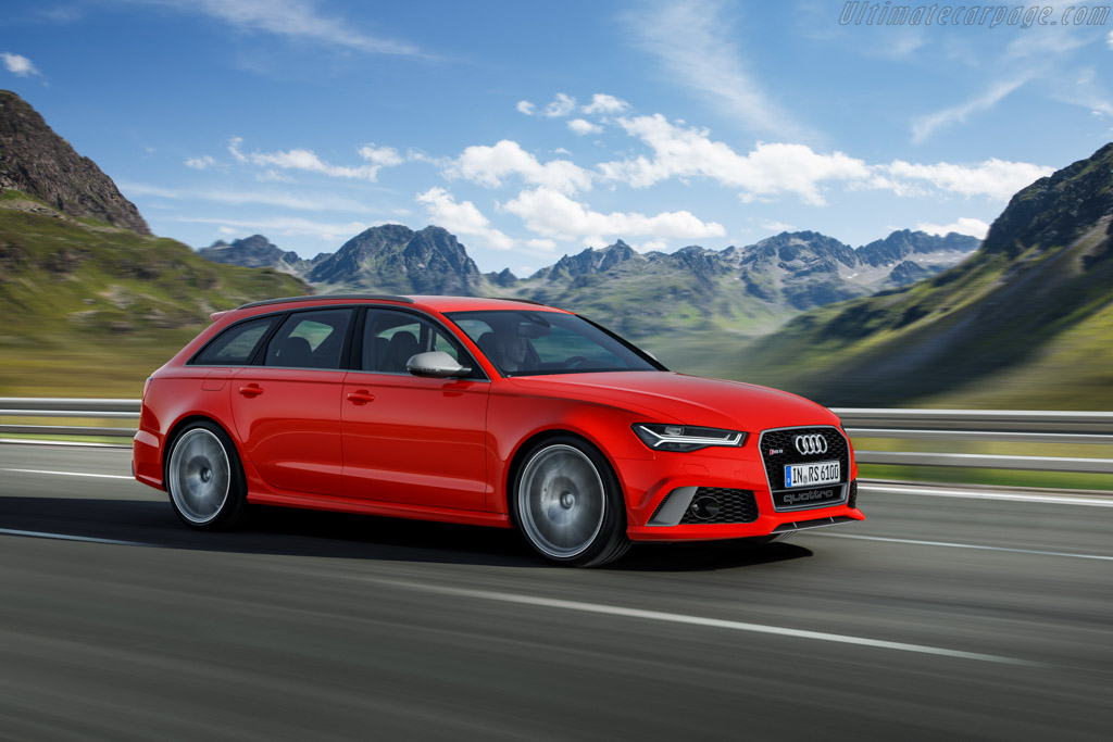 Click here to open the Audi RS 6 Avant performance gallery