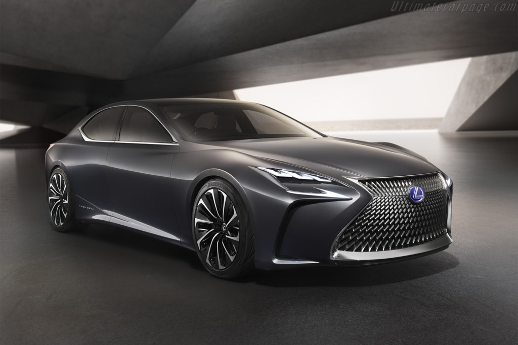 Click here to open the Lexus LF-FC Concept gallery